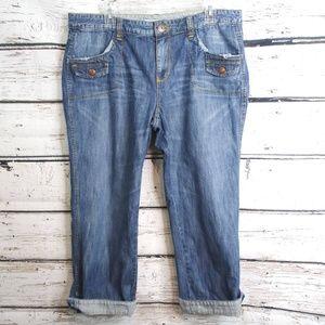 Tommy Hilfiger/ Capri Crop Jeans/ Sz 14